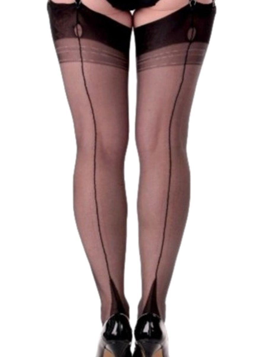 Premier Lingerie Fully Fashioned Point Heel Amp Seam